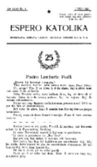 Espero Katolika.Jaro 12a, No 6 (1920)