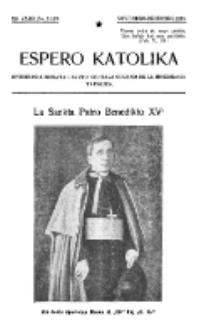 Espero Katolika.Jaro 12a, No 11/12 (1920)
