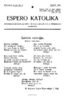 Espero Katolika.Nova Serio Jaro 1, No 3 (1921)