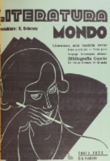 Literatura Mondo. Periodo 2, Jaro 3, numero 6 (Junio 1933)