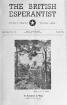 The British Esperantist : the official organ of the British Esperanto Association. Vol. 52, no 611 (March 1956)