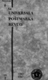 The Universal Postage Stamp Review. Vol. 1, no 6 (June 1947)