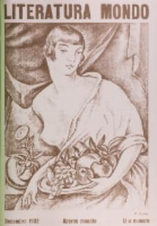Literatura Mondo. Periodo 2, Jaro 2, numero 10 (Decembro 1932)