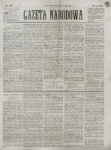 Gazeta Narodowa. R. 13 (1874), nr 111 (16 maja)