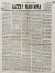 Gazeta Narodowa. R. 13 (1874), nr 117 (23 maja)