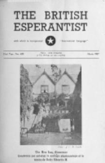 The British Esperantist : the official organ of the British Esperanto Association. Vol. 53, no 622 (March 1957)
