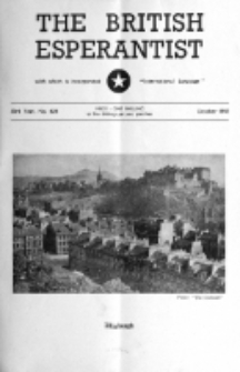 The British Esperantist : the official organ of the British Esperanto Association. Vol. 53, no 628 (October 1957)