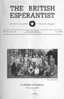 The British Esperantist : the official organ of the British Esperanto Association. Vol. 54, no 636 (June 1958)
