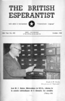 The British Esperantist : the official organ of the British Esperanto Association. Vol. 55, no 650 (October 1959)