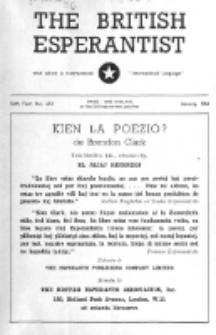 The British Esperantist : the official organ of the British Esperanto Association. Vol. 56, no 653 (January 1960)