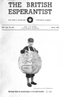 The British Esperantist : the official organ of the British Esperanto Association. Vol. 56, no 655 (March 1960)