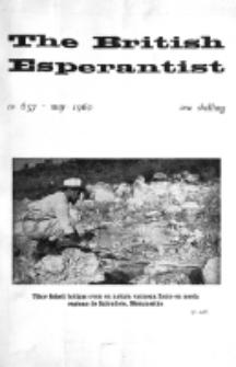The British Esperantist : the official organ of the British Esperanto Association. Vol. 56, no 657 (May 1960)