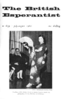 The British Esperantist : the official organ of the British Esperanto Association. Vol. 56, no 659 (July-August 1960)
