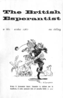 The British Esperantist : the official organ of the British Esperanto Association. Vol. 56, no 661 (October 1960)