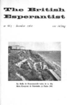 The British Esperantist : the official organ of the British Esperanto Association. Vol. 56, no 663 (December 1960)