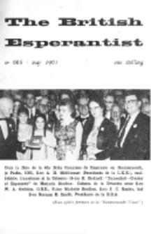 The British Esperantist : the official organ of the British Esperanto Association. Vol. 57, no 668 (May 1961)