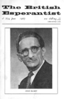 The British Esperantist : the official organ of the British Esperanto Association. Vol. 63, no 734 (June 1967)