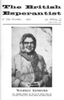 The British Esperantist : the official organ of the British Esperanto Association. Vol. 63, no 739 (December 1967)