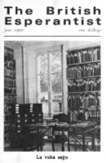 The British Esperantist : the official organ of the British Esperanto Association. Vol. 66, no 766 (June 1970)
