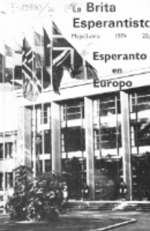The British Esperantist : the official organ of the British Esperanto Association. Vol. 70, no 801 (Majo/Junio 1974)