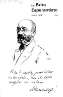 The British Esperantist : the official organ of the British Esperanto Association. Vol. 70, no 804 (Vintro 1974)