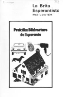 The British Esperantist : the official organ of the British Esperanto Association. Vol. 75, no 829 (Majo-Junio 1979)
