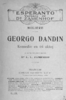 Georgo Dandin : komedio en tri aktoj.