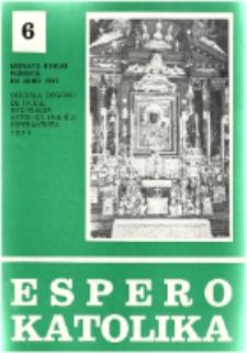 Espero Katolika.Jarkolekto 74, No 6=675 (1977)