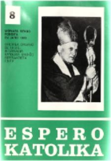 Espero Katolika.Jarkolekto 74, No 8=677 (1977)
