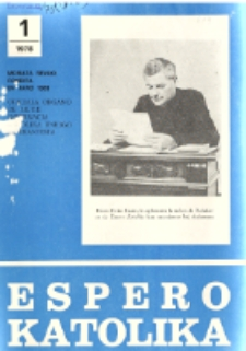 Espero Katolika.Jarkolekto 75, No 1=679 (1978)
