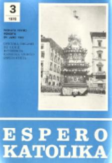 Espero Katolika.Jarkolekto 75, No 3=681 (1978)