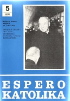 Espero Katolika.Jarkolekto 75, No 5=683 (1978)