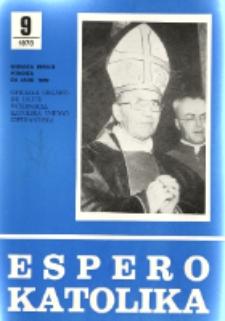 Espero Katolika.Jarkolekto 75, No 9=687 (1978)