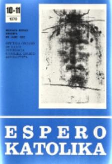 Espero Katolika.Jarkolekto 75, No 10/11=688/689 (1978)