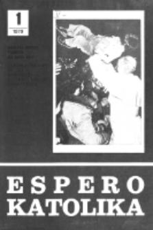 Espero Katolika.Jarkolekto 76, No 1=691 (1979)