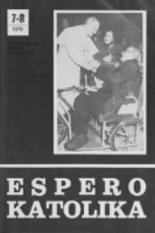 Espero Katolika.Jarkolekto 76, No 7/8=697/698 (1979)