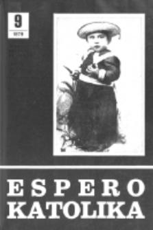 Espero Katolika.Jarkolekto 76, No 9=699 (1979)