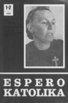 Espero Katolika.Jarkolekto 77, No 1/2=703/704 (1980)