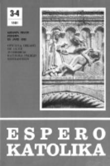 Espero Katolika.Jarkolekto 78, No 3/4=717/718 (1981)