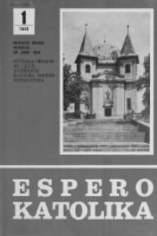 Espero Katolika.Jarkolekto 78, No 1=715 (1981)