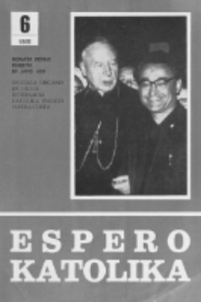 Espero Katolika.Jarkolekto 78, No 6=720 (1981)