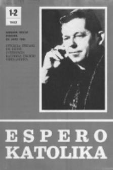 Espero Katolika.Jarkolekto 79, No 1/2=727/728 (1982)