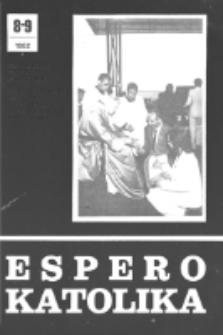 Espero Katolika.Jarkolekto 79, No 8/9=734/735 (1982)