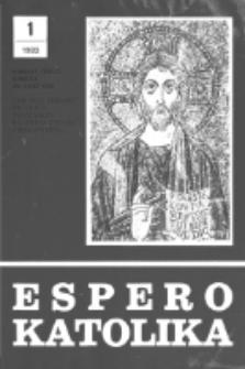 Espero Katolika.Jarkolekto 80, No 1=739 (1983)