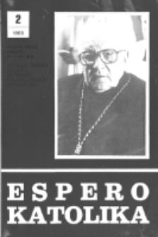 Espero Katolika.Jarkolekto 80, No 2=740 (1983)