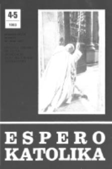 Espero Katolika.Jarkolekto 80, No 4/5=742/743 (1983)