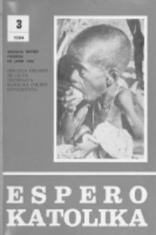 Espero Katolika.Jaro 81, No 3=752 (1984)