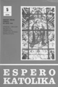Espero Katolika.Jaro 81, No 5=754 (1984)