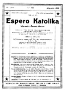 Espero Katolika.Jaro 28a, No 101 (1932)
