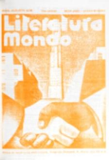 Literatura Mondo. Periodo 2, Jaro 6, numero 4 (Julio-Augusto 1936)